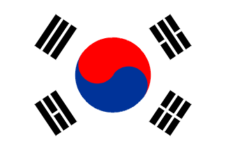 korearepublicofnew Flag