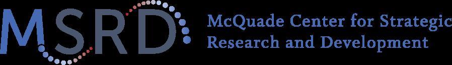 McQuade Center for Strategic Research and Development