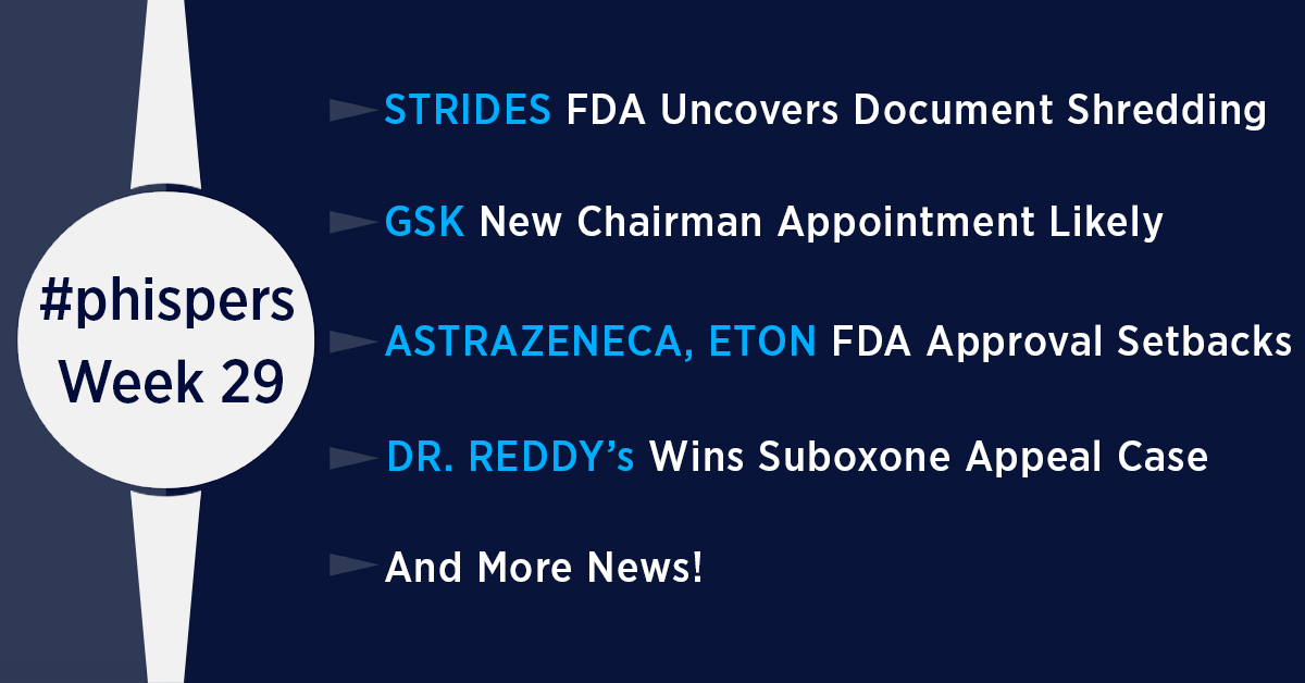 FDA uncovers shredding of documents at Strides; Indoco gets another warning letter