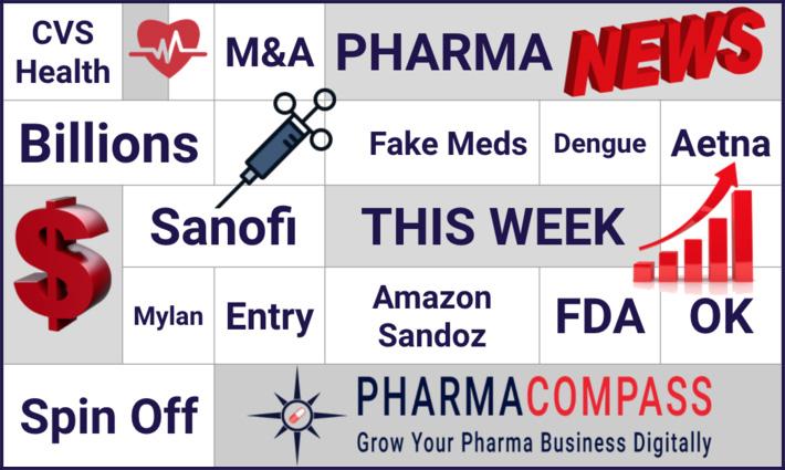 Novartis considering a sale of Sandoz's oral solids business; Sanofi's dengue vaccine found to make disease worse