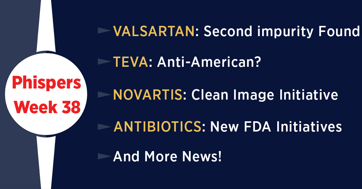 Novartis seeks to clean image, links employee bonuses to ethics; EMA, FDA probe new impurity in valsartan