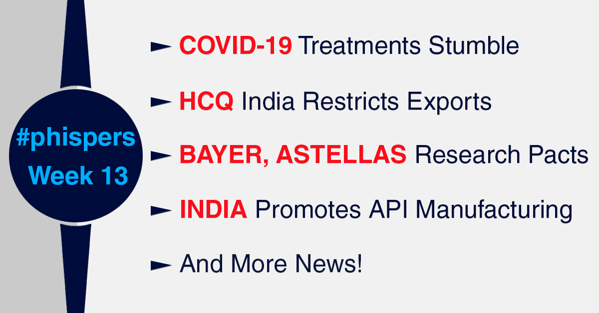 Covid-19 treatments stumble; India restricts Trump-backed drug (HCQ) exports as FDA lifts ban on Ipca to get supplies
