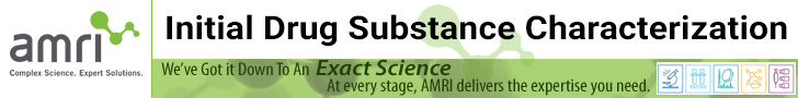 AMRI-Initial-Drug-Substance-Characterization