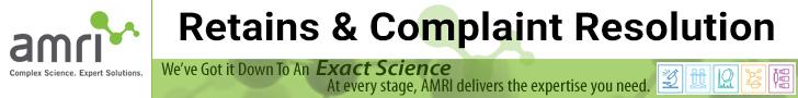AMRI-Retains-Complaint-Resolution
