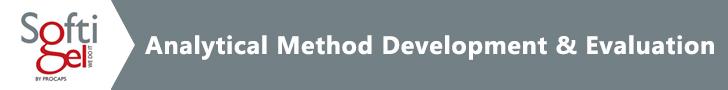Softigel-Analytical-Method-Development-&-Evaluation