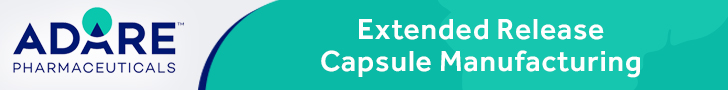 Adare-Extended-Release-Capsule-Manufacturing