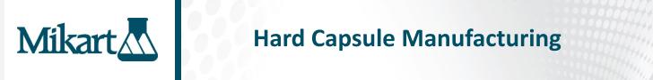 Hard Capsule Manufacturing