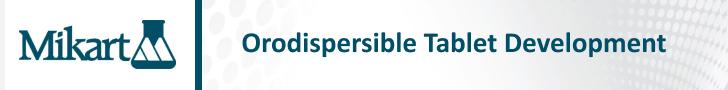 Orodispersible Tablet Development
