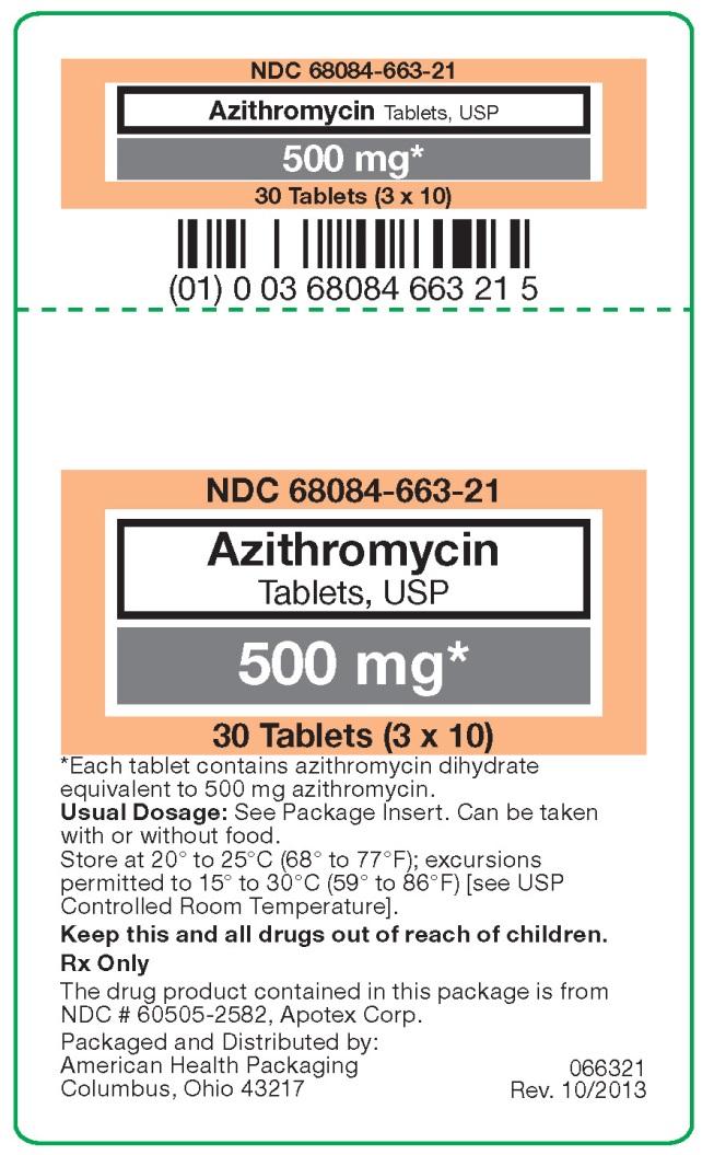 Azithromycinum 500mg equals