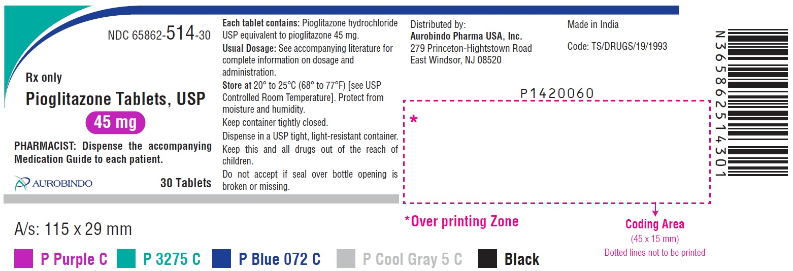 Pioglitazone low extraction