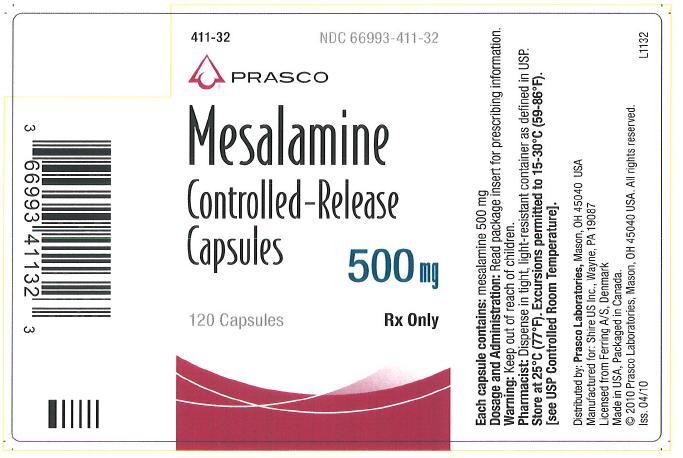 Tablet mesalamine formulation