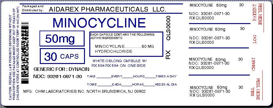 Minocycline Hcl 100mg Caps