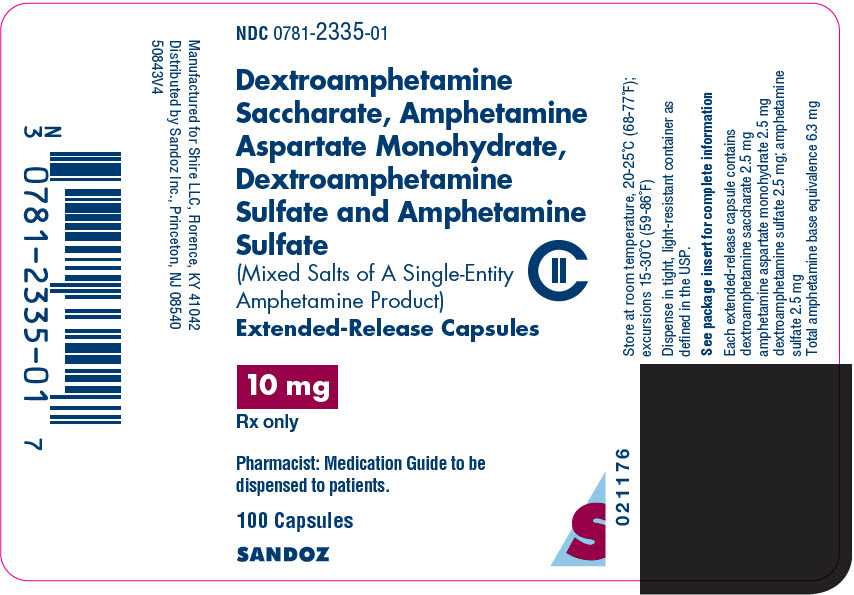 Dextroamphetamine 10 mg cost